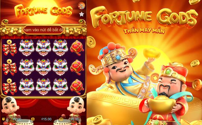 Fortune Gods - Thần may mắn - Slot Game hấp dẫn tại 7ballBET