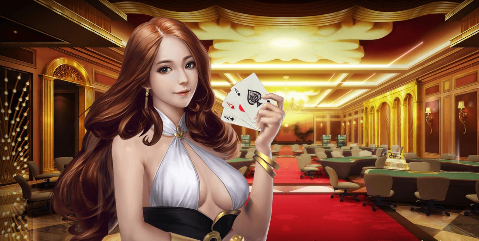 Giao diện sảnh game bài đổi thưởng ăn tiền thật vô cùng đẹp mắt tại 7ball