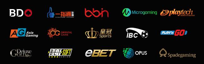Tất cả các sảnh game nổi tiếng lớn nhỏ đều có mặt tại 7ballBET